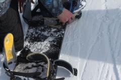 Snowboard afstelling