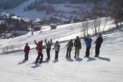 Leren skiën